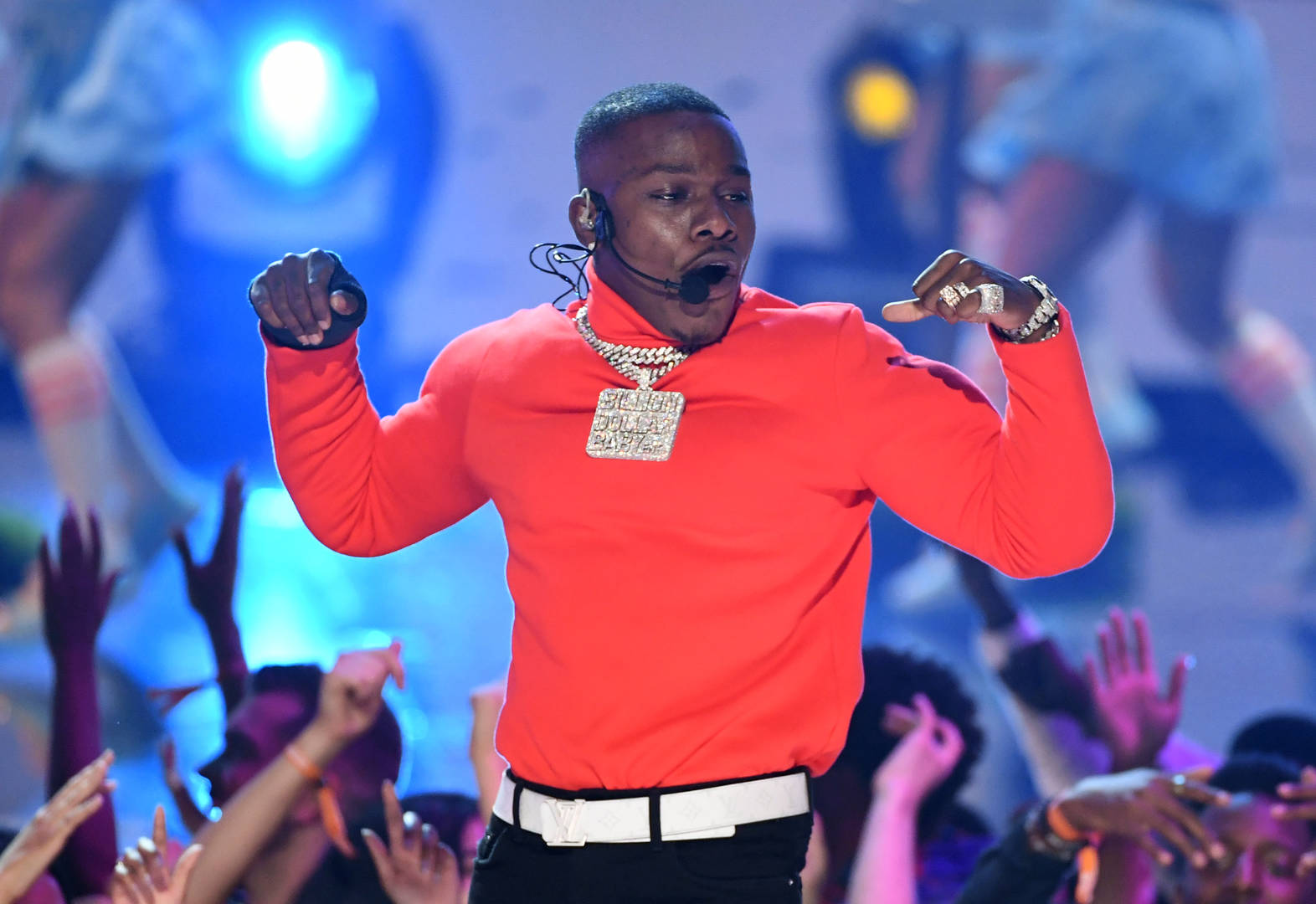 DaBaby Hits Studio With Gucci Mane & ...